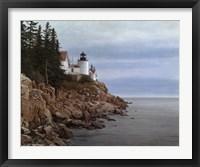 Framed Bass Harbor Light