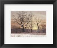 Framed Silent Sunset