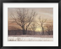 Framed Silent Sunset