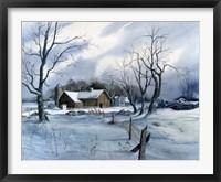 Framed Winter White