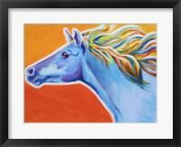 Framed Horse Like The Wind