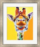Framed Giraffe No. 3
