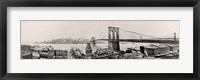 Framed Brooklyn Bridge1901