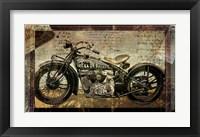 Framed Hell on Wheels