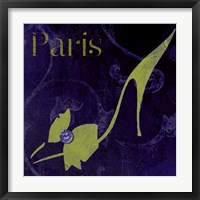 Framed Paris Shoes