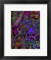 Framed Butterfly Jewels