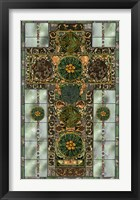 Framed Celtic Cross