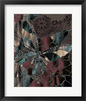 Framed Japanese Butterfly