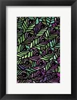 Framed Peacock Pattern