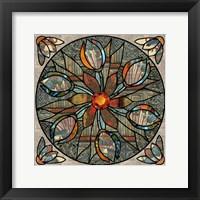 Framed Mandala Ibis
