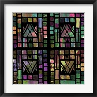 Framed Quilt of Glass