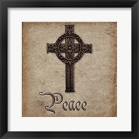 Spiritual Pack Peace Framed Print
