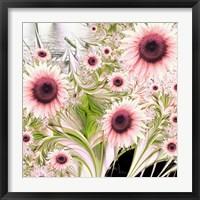 Framed Water Sunflowers