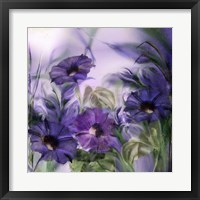 Framed Purple Dream I