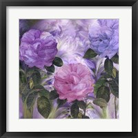 Purple Dream III Framed Print