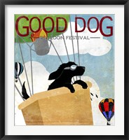 Framed Good Dog Balloon Festival