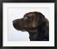 Framed Black Lab 1