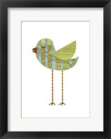 Band-legged Bluestripe Framed Print