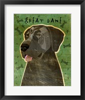 Framed Great Dane 5