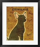 Framed Chihuahua (black)