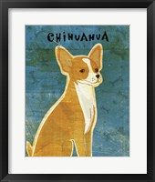 Framed Chihuahua (red)
