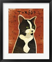 Tuxedo Framed Print