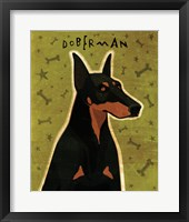 Framed Doberman