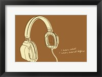 Framed Lunastrella Headphones