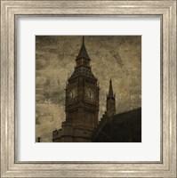 Framed Big Ben St. Stephens