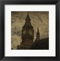 Framed Big Ben St. Stephens