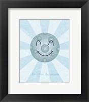 Moon II Framed Print