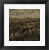 Paris Skyline I Framed Print