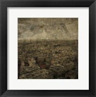 Paris Skyline IV Framed Print