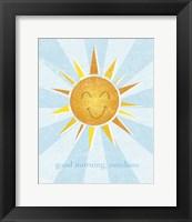 Framed Sunshine II