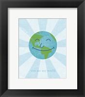 World II Framed Print