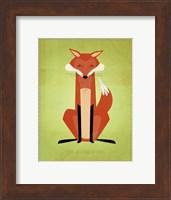 Framed Crooked Fox