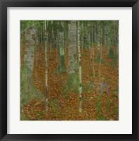 Framed Buchenwald (Beech Trees), 1903
