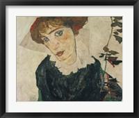 Framed Portrait Of Wally, 1912