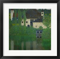Framed Unterach Manor On The Attersee Lake In Austria,  1915-1916