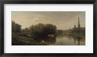 Framed Banks Of The Oise, 1859