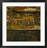 Framed Die Kleine Stadt (II), 1912-1913