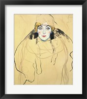 Framed Female Head, 1917-1918