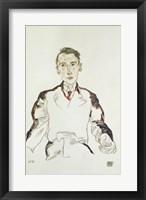Framed Portrait of Dr. Heinrich Rieger, 1917