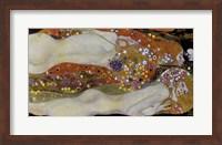 Framed Wasserschlangen - Watersnakes IiI(The Friends), 1904-1907