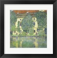 Framed Schloss Kammer Am Attersee Iii (Wasserschloss), 1910