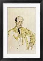 Framed Composer Arnold Schoenberg, 1917