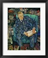 Framed Portrait Dr. Hugo Koller, 1919