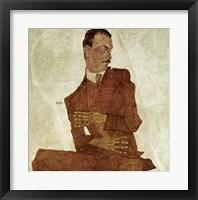 Framed Portrait Arthur Roessler, 1910