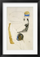 Framed Two Reclining Figures, 1912