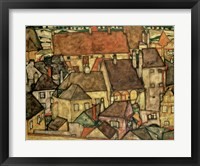 Framed Yellow City, 1914